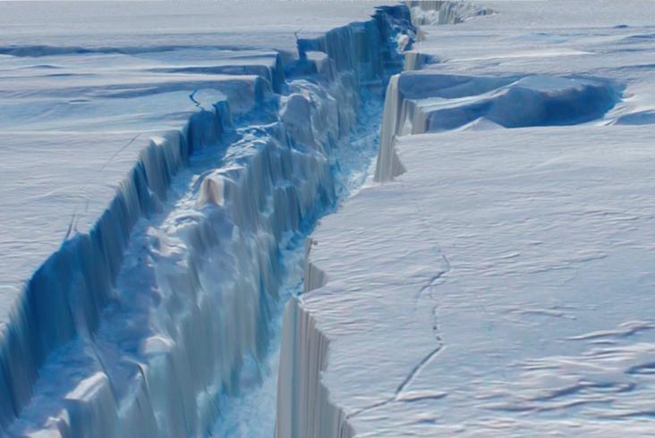 Glacier Island Antarctica