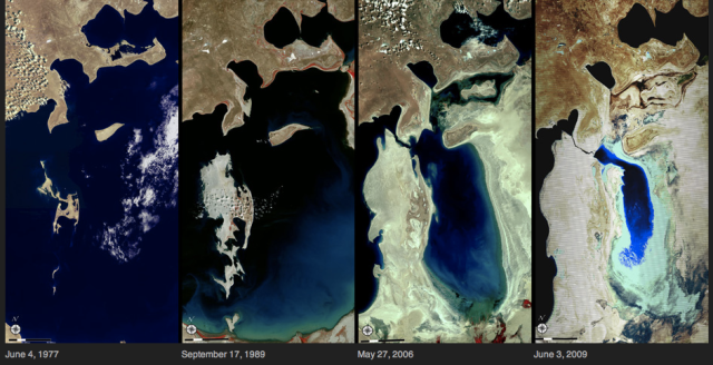 Aral Sea compilation