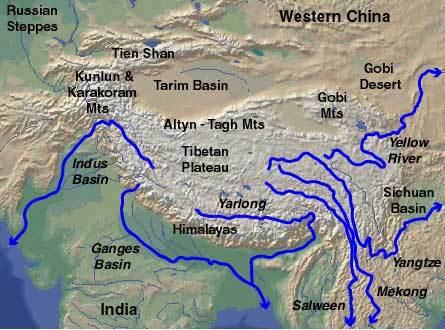 tibetan-rivers